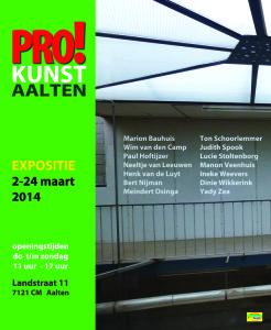 Affiche PRO!kunst AALTEN_klein