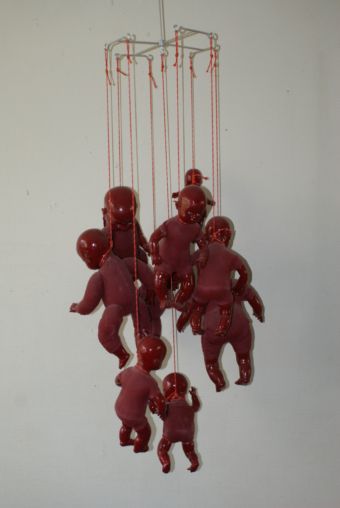 installatie gehangen 2013 neeltje